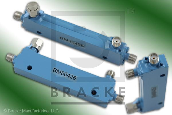 SMA Female Broadband Directional Coupler, 1-4 GHz Coupling 6 +/- 1.00 dB