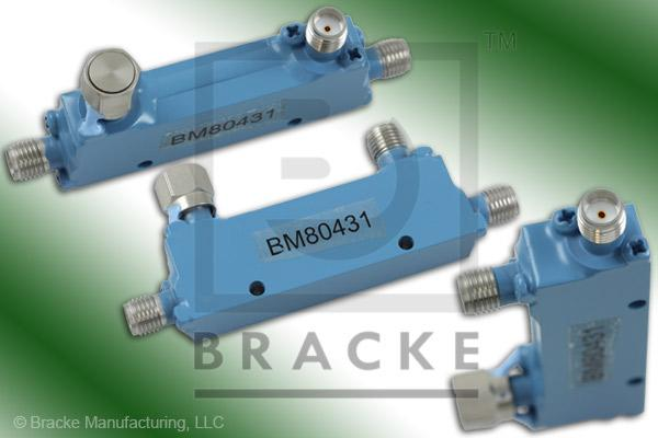 SMA Female Broadband Directional Coupler, 2-8 GHz Coupling 20 +/- 1.00 dB