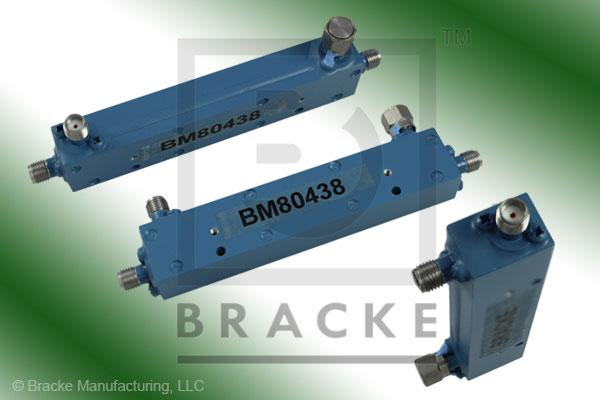 SMA Female Broadband Directional Coupler, 1-18 GHz Coupling 16 +/- 1.00 dB