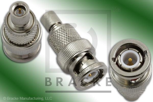 BNC Male to 10-32 Male Adapter