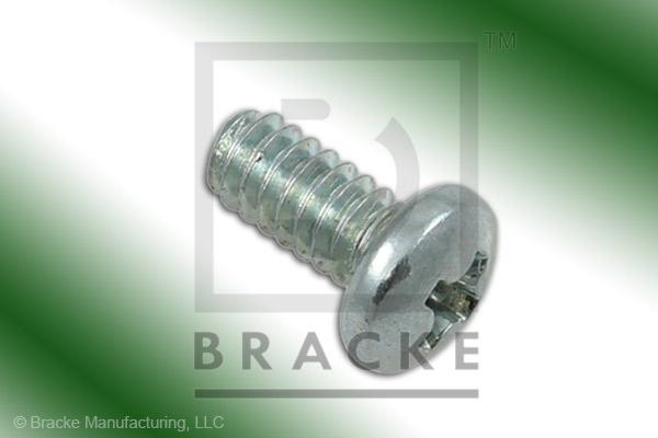 "#4-40 Phillips Screw, 1/4"" Length, Zinc Plated *Sold in 50 Pieces Per Pack*"