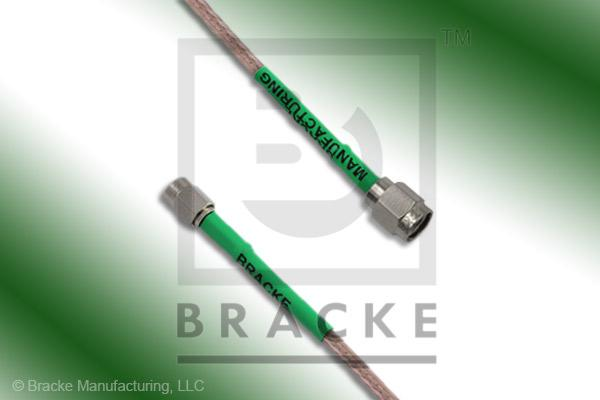 SSMA Male to SMA Male Cable Assembly RG316-Double