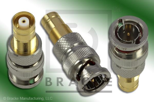 75 Ohm BNC Male to 1.6/5.6 Female Adapter