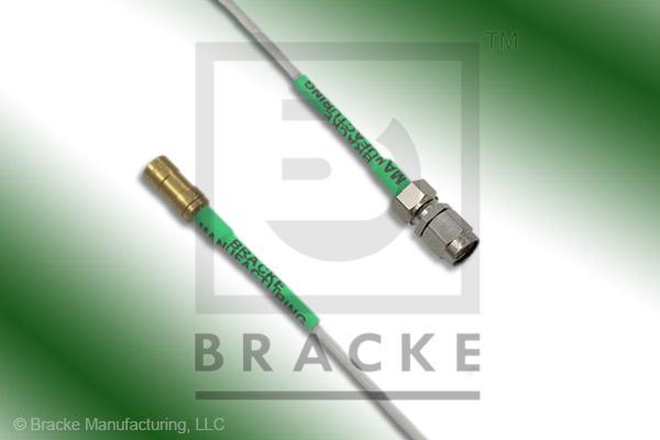 SSMB Plug to SMA Male Cable Assembly RG196A/U