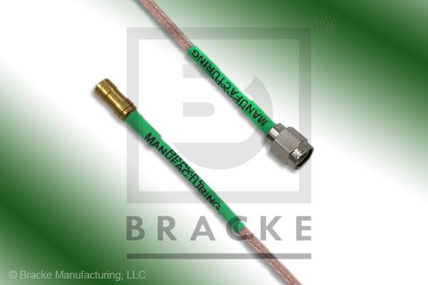 SSMB Plug to SMA Male Cable Assembly RG316/U