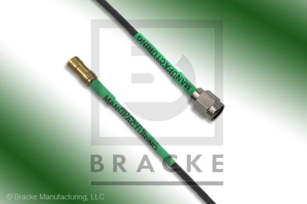 SSMB Plug to SMA Male Cable Assembly RG174A/U