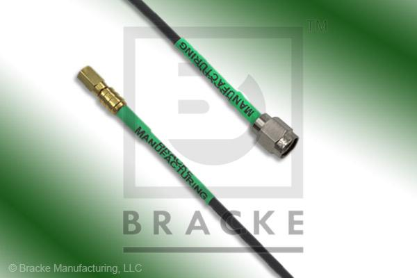 SSMC Plug to SMA Male Cable Assembly RG174A/U