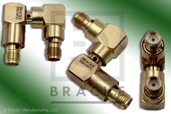PRECISION, SMA Female to SMA Female Rotary Joint Multi-Directional Adapter (Max VSWR 1.30:1 @ 6 GHz)