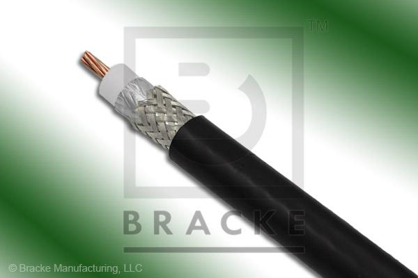 "50 Ohm LMR-400-Ultra-Flex Bulk Cable, TPE Jacket, .405"" Dia 2 Shields, .108"" Center Conductor"