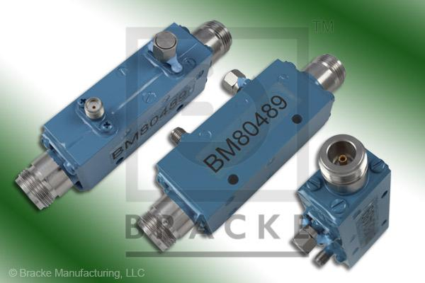N Female High Power Directional Coupler, Freq. Range 4-12 GHz Coupling 30 +/- 1.00dB