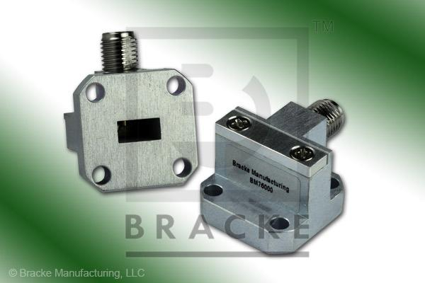 Waveguide to Coax Adapter 2.92mm Female WR-28 Frequency Range 26.50-40.00 GHz