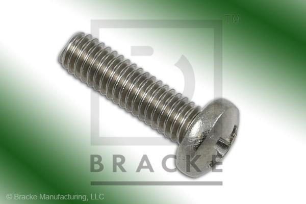 "#3-56 Phillips Screw, 3/8"" Length, Stainless Steel *Sold in 50 Pieces Per Pack*"