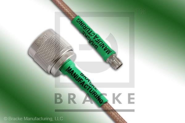 N Male to SMA Female Cable Assembly RG142B/U