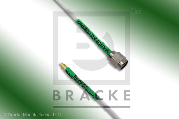MMCX Plug to SMA Male Cable Assembly RG188A/U