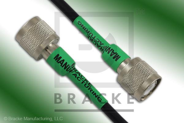 HN Male to HN Male Cable Assembly RG59B/U