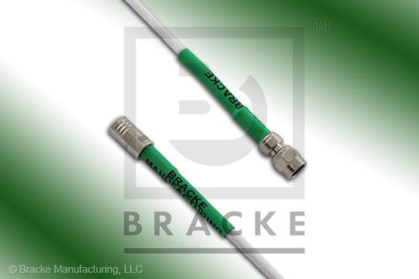 SMA Male to SMC Plug Cable Assembly RG188-Double