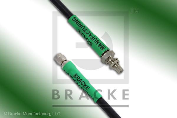 SMC Plug to SMC Jack Bulkhead Cable Assembly RG58C/U