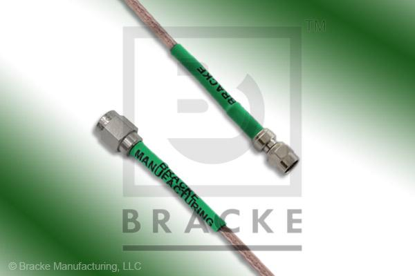 SMA Male to SMC Plug Cable Assembly RG316/U