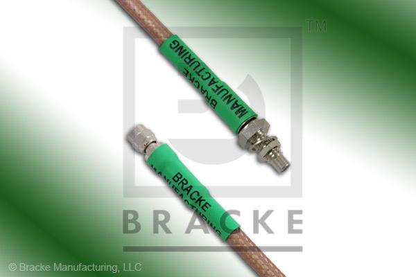 SMC Plug to SMC Jack Bulkhead Cable Assembly RG142B/U