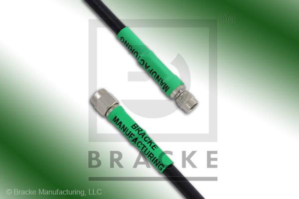 SMA Male to SMC Plug Cable Assembly RG223/U