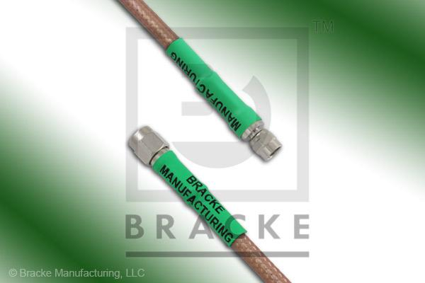 SMA Male to SMC Plug Cable Assembly RG400/U
