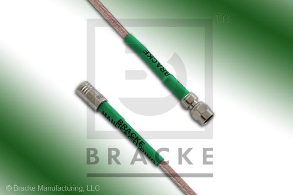 SMA Male to SMC Plug Cable Assembly RG316-Double
