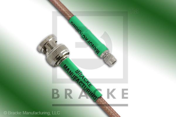 BNC Male to SMC Plug Cable Assembly RG142B/U