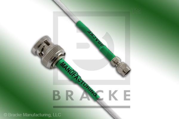 BNC Male to SMC Plug Cable Assembly RG188A/U