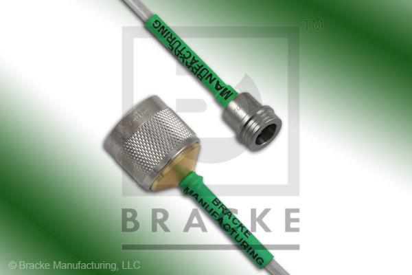 QN Male to N Male Cable Assembly RG402-Alum