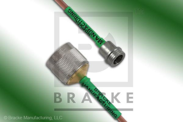 QN Male to N Male Cable Assembly RG402/U