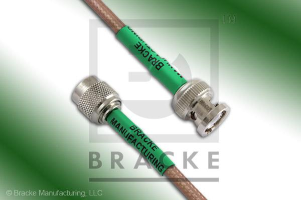 BNC Male to TNC Male Cable Assembly RG142B/U