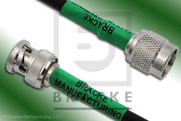 BNC Male to TNC Male Cable Assembly LMR-195