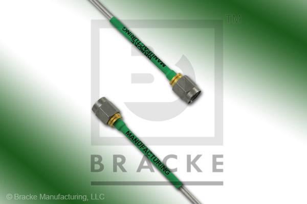 SMA Male to SMA Male Cable Assembly RG405-Alum