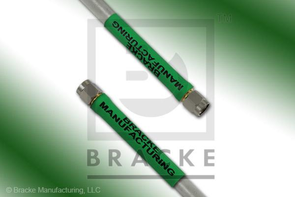 SMA Male to SMA Male Cable Assembly RG401-Alum