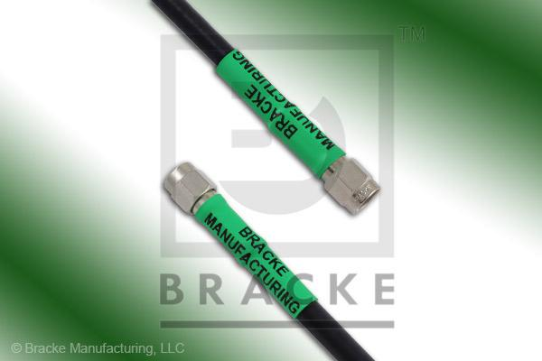 SMA Male to SMA Male Cable Assembly RG58C/U