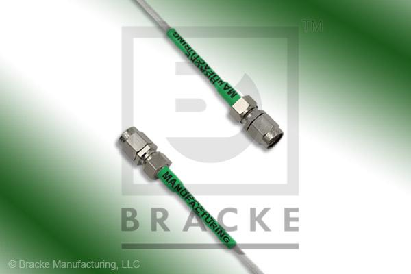 SMA Male to SMA Male Cable Assembly RG196A/U