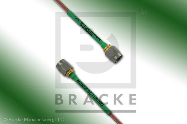 SMA Male to SMA Male Cable Assembly RG405/U