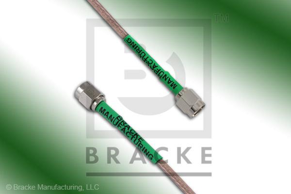 SMA Male to SMA Male Cable Assembly RG316/U