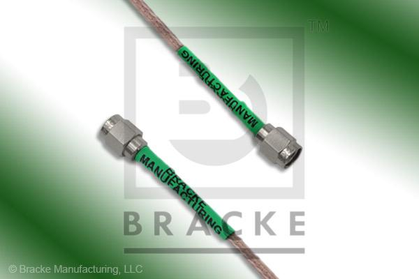 SMA Male to SMA Male Cable Assembly RG316-Double