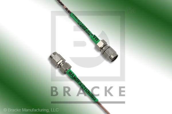 SMA Male to SMA Male Cable Assembly RG178B/U