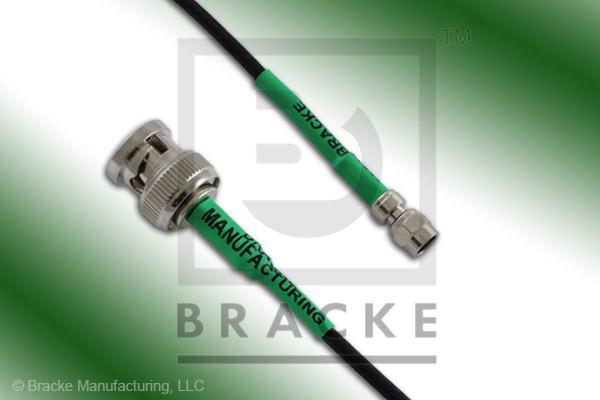 BNC Male to SMC Plug Cable Assembly RG174A/U