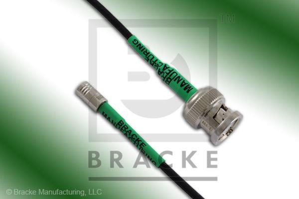 BNC Male to SMB Plug Cable Assembly RG174A/U