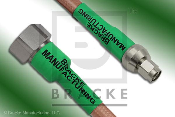 4.1/9.5 Din Male to SMA Male Cable Assembly RG393/U