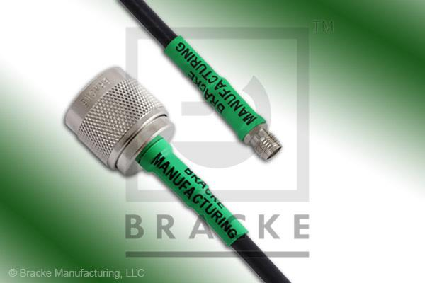 N Male to SMA Female Cable Assembly RG223/U