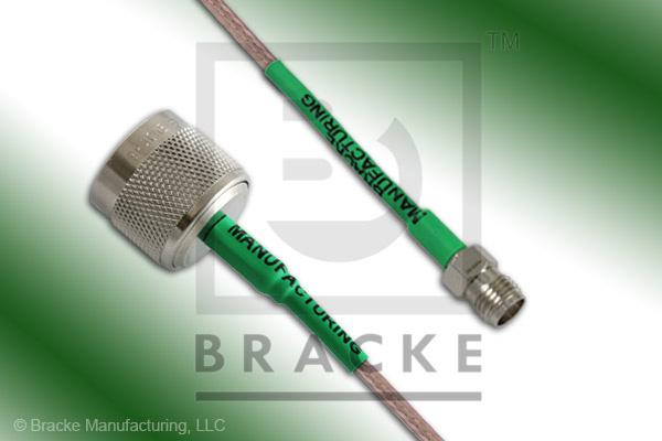 N Male to SMA Female Cable Assembly RG316/U
