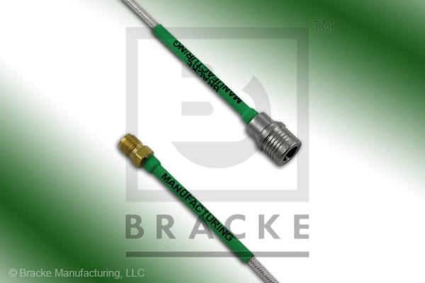 QMA Male to SMA Female Cable Assembly RG405-Flex