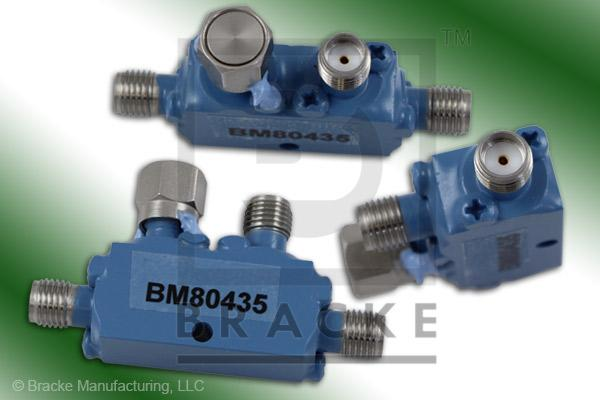 SMA Female Broadband Directional Coupler, 7-18 GHz Coupling 10 dB +/- 1.25 dB