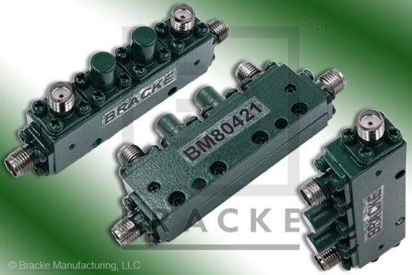 SMA Female Dual Directional Coupler, Freq. 12.4-18 GHz Coupling 20 +/- 1.25 dB