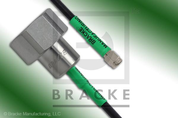 4.1/9.5 Din Male to SMA Male Cable Assembly RG223/U