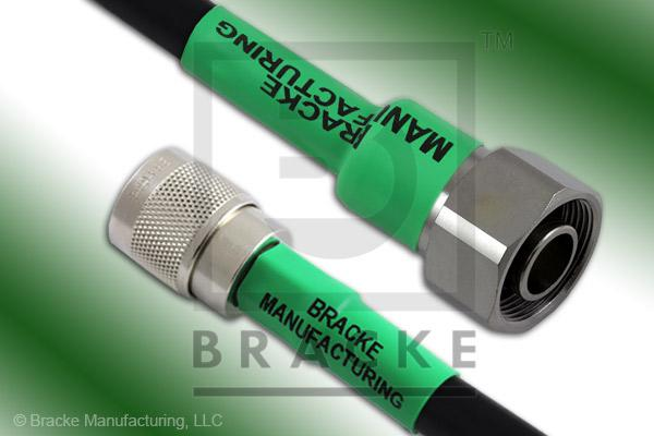 4.1/9.5 Din Male to N Male Cable Assembly RG214/U